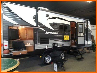 2015 Keystone Springdale SG-225 26' Travel TRLR Slide Out Outdoor Kitchen TEXAS