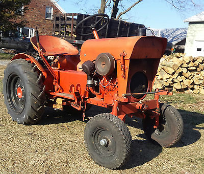 1968 Economy Power king Jim Dandy Tractor 1614 RUNS GREAT Original all gear dr