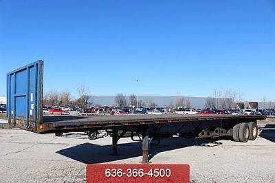 2000 Great Dane 40ft Flatbed Used Air Suspension 1 Owner