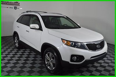 Kia : Sorento EX 2.4L I4 Front-wheel Drive Used SUV Leather FINANCING AVAILABLE!! 80k Mi Used 2013 Kia Sorento EX SUV FWD Backup Camera