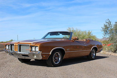 Oldsmobile : Cutlass 442 1972 olds 442 convertible