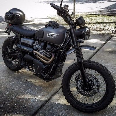 Triumph Bonneville Scrambler 900 Efi Motorcycles For Sale