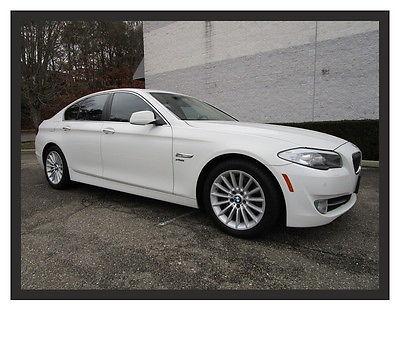 BMW : 5-Series 535i xDrive Only 17k Miles White 11 bmw 535 x drive 4 x 4 all wheel drive white only 17 k miles loaded