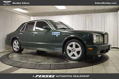 Bentley : Arnage 4dr Sedan T 4 dr sedan t low miles automatic gasoline 6.8 l 8 cyl green