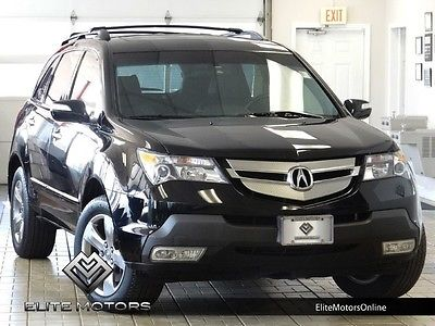 Acura : MDX Sport/Entertainment Pkg 07 acura mdx sport awd navi gps back up cam rear dvd third row cd changer