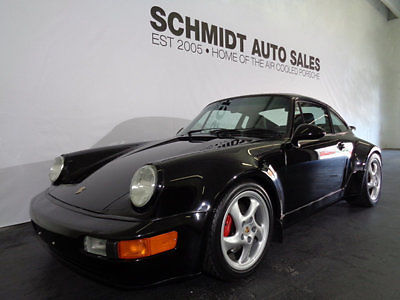Porsche : Carrera GT 1994 porsche c 4 widebody black classic vintage fully restored sports car