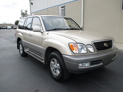 Lexus : LX LX470 4X4 Clean Truck - Runs Great! NO RUST, VERY WELL MAINTAINED - TAMPA FLORIDA