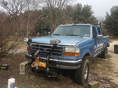 Ford : F-350 Xlt Ford f350 plow truck needs work