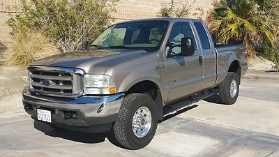 Ford : F-350 7.3 Powerstoke Diesel F350 Supercab Shortie Ford F350 Super Cab Immaculate Arizona Beige Super Cab Shorbed F250 99 00 01 02