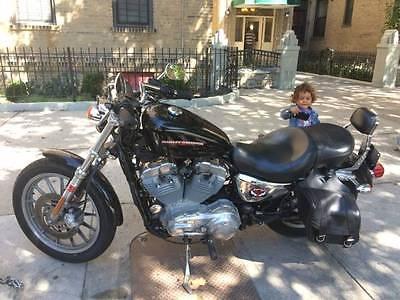 Harley-Davidson : Sportster 2005 harley davidson sportster xl 883 black sexy sleek motorcycle clean title