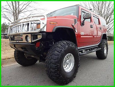 Hummer : H2 2003 HUMMER H2 AUTOMATIC LIFTED 41 INCH TIRES LEATHER HEATED SEATS POWER SUNROOF BOSE ONSTAR IROK TIRES EAGLE WHEELS FABTECH
