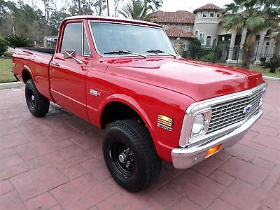 Chevrolet : C-10 FREE SHIPPING! K10: SWB, 350, Auto, 4x4, PS/PB, A/C, Houndstooth Buckets, Tilt, Bedliner, Rims!