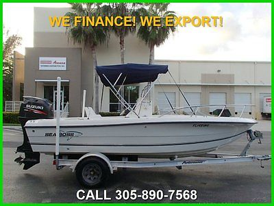 2003 SEA BOSS 1900CC! 2007 SUZUKI 4 STROKE 175 HOURS! WE FINANCE! WE EXPORT!