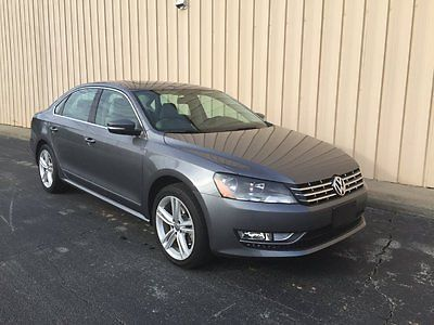 Volkswagen : Passat SEL Premium V6 NAV Sedan 4-Door LOADED Rear CAM 2013 vw passat v 6 sel loaded super clean bluetooth navigation rear cam like new