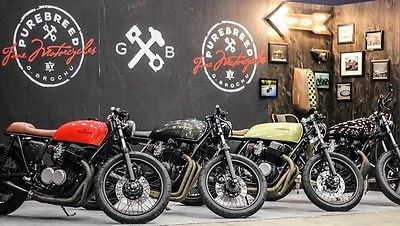 Honda : CB 1971 honda cb 750 purebreed cycles cafe racer