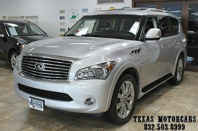 Infiniti : QX56 Dvd`s Loaded With Only 45k 2012 infiniti qx 56 7 passanger nav rear cam loaded 1 owner only 45 k