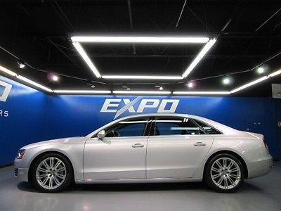 Audi : A8 Sedan Audi A8 L 4.2 Quattro Rear Entertainment Nav Cooled Heated Seats Cam Pano Roof