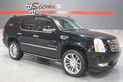 Cadillac : Escalade awd black, black leather, awd,