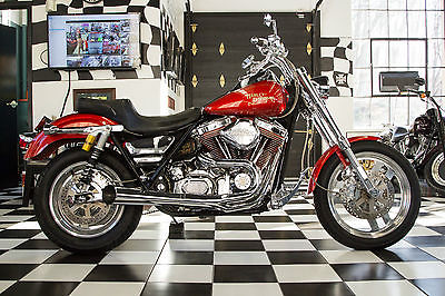 Harley-Davidson : FXR 1987 harley davidson fxrs sp custom low rider sport