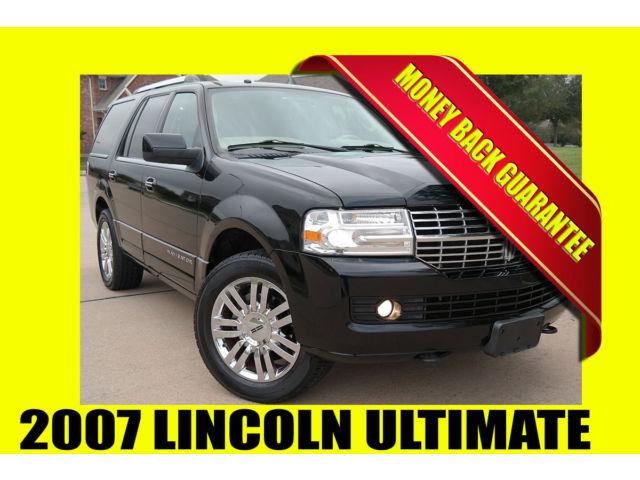 Lincoln : Navigator ULTIMATE PKG ~ NAVIGATION ~ MONEY BACK GUARANTEE!! 2007 lincoln navigator ultimate navigation dvd clean title rust free
