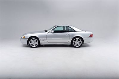 Mercedes-Benz : SL-Class Roadster 2001 mercedes sl 500 roadster brilliant silver grey leather w removable hard top