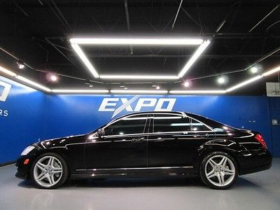 Mercedes-Benz : S-Class Sedan Mercedes-Benz S63 AMG Driver Assist Night Vision DISTRONIC Nav Cam Cooled Seats