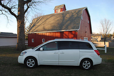 Nissan : Quest 4dr S 2007 nissan quest s one owner rear dvd loaded warranty nice look
