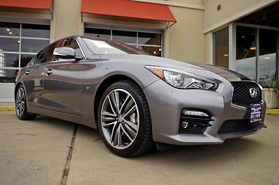 Infiniti : Q50 S 2014 infiniti q 50 sport 3.7 1 owner navigation cold weather package more