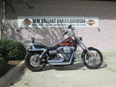 Harley-Davidson : Dyna 2013 black dyna wide glide