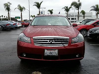 Infiniti : M45 4dr Sedan 4 dr sedan bargain corner low miles automatic gasoline 4.5 l v 8 dohc 32 v crimson r