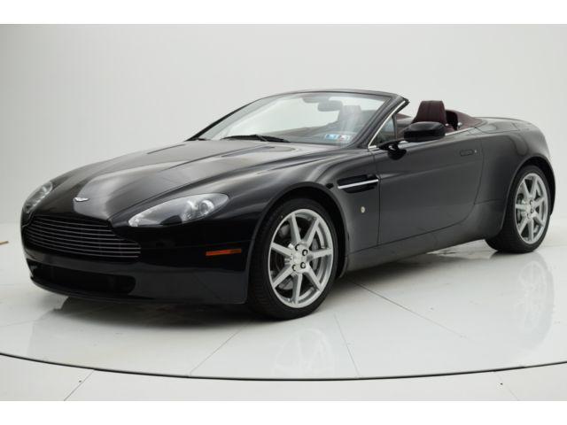 Aston Martin : Vantage Roadster 6 speed manual driven only 21 650 miles aston martin dealer