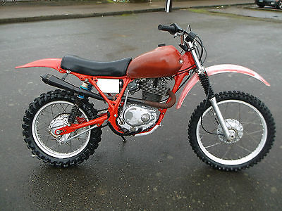 Honda : XR XL350 Powroll 403cc Megacycle Cam Al Baker's Pipe XL500 Mugen WORKS Shocks VMX
