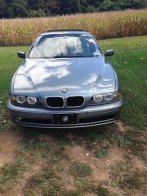 BMW : 5-Series 530i 2002 bmw e 39 530 i low miles bluetooth bundle