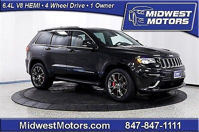 Jeep : Grand Cherokee SRT 2015 jeep grand cherokee srt 4 wheel drive 1 owner pano roof high perf audio