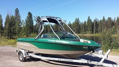 2005 Svfara SV609 boat, trailer & extra items