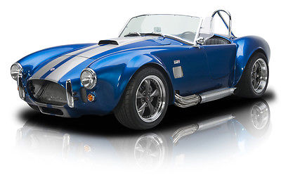 Shelby : Cobra Frame Off Built Factory Five Cobra 392 Stroker V8 Tremec 5 Speed 3.73 Posi