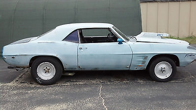 Pontiac : Firebird Deluxe Black INt fold down rear seat 1969 pontiac firebird deluxe int 400 v 8 auto project