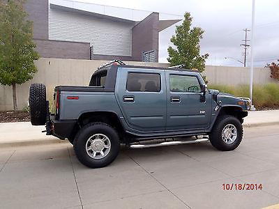 Hummer : H2 Luxury Sport Utility 4-Door 05 hummer h 2 luxury 2 nd owner 47 k loaded nav dvd excellent original look