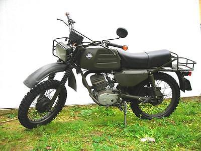 Other Makes : Hercules BW 125 West German Military Scout motorcycle