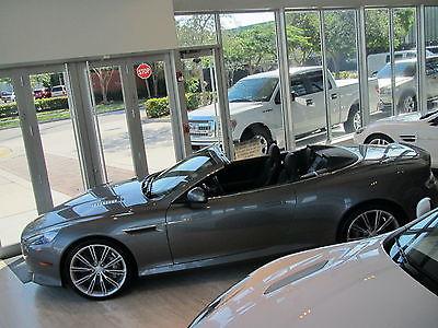 Aston Martin : DB9 DB9 VOLANTE CONVERTIBLE 2015 15 aston martin db 9 convertible only 942 miles 20 wheels v 12 fl