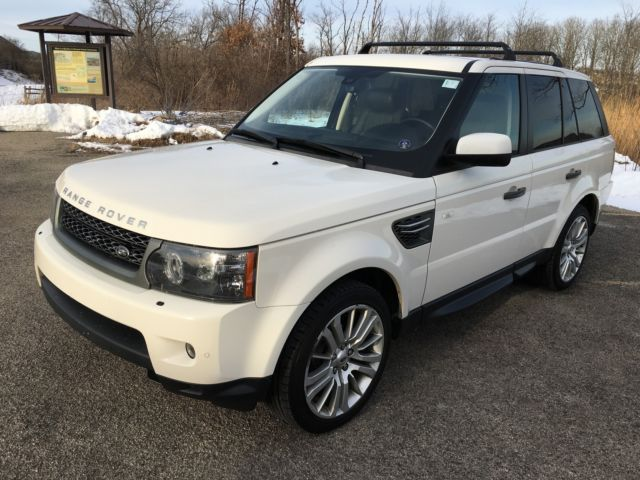 Land Rover : Range Rover Sport 4WD 4dr HSE Two owner local trade, Clean CarFax, Non smoker!