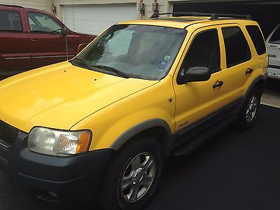 Ford : Escape XLT 2001 ford escape 3.0 l v 6 4 wd fully loaded one owner