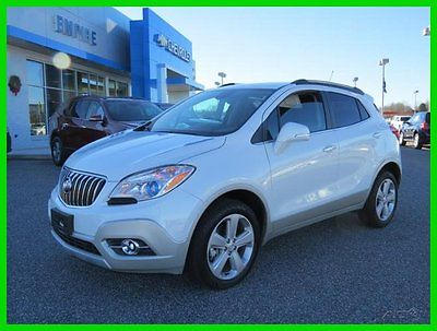 Buick : Encore AWD 4dr Leather 2016 awd 4 dr leather used turbo 1.4 l i 4 16 v automatic onstar