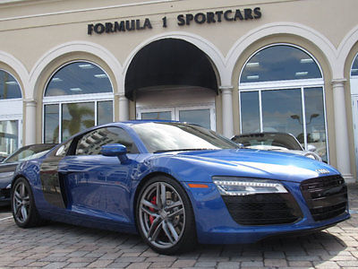 Audi : R8 2dr Coupe Automatic quattro V8 2015 audi r 8 v 8 s tronic