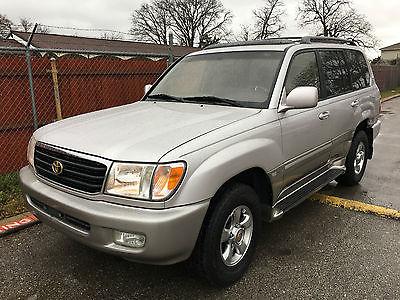 Toyota : Land Cruiser SUV  2001 toyota land cruiser