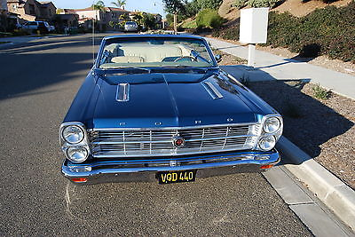 Ford : Fairlane GTA 390 1966 ford fairlane gt real gta convertible
