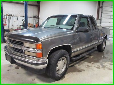 Chevrolet : C/K Pickup 1500 LS 1999 ls z 71 no rust florida truck 4 x 4 3 dr x cab clean 90 day warranty