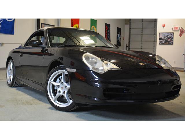 Porsche : 911 2dr Cabriole 2002 porsche 911 996 c 4 awd conv with factory aero flared rocker panels