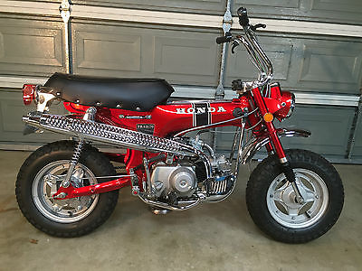 Honda : CT Restored 1969 Honda CT70 Silver Tag Title and Current Street Legal Registration