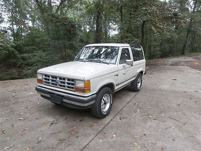 Ford : Bronco II 1989 bronco ii for sale